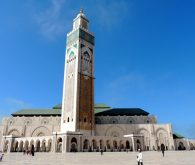 Casablanca and wonderful Hassan II. mosque