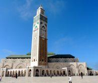 Casablanca and wonderful Hassan II. mosque