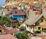 Popeye Village in Anchor bay