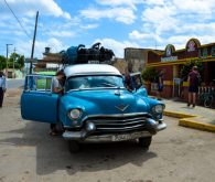 700 km with 60 years old car to Cienfuegos